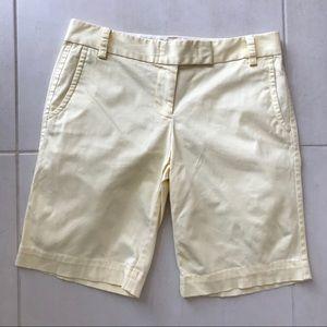 J. Crew Factory City Fit Cotton Bermuda Shorts